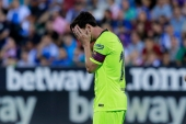 Leganes 2-1 Barcelona: Barca suffer 1st defeat this season after Pique's botched clearance