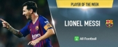 Barcelona captain Lionel Messi named All Football Player of the Week