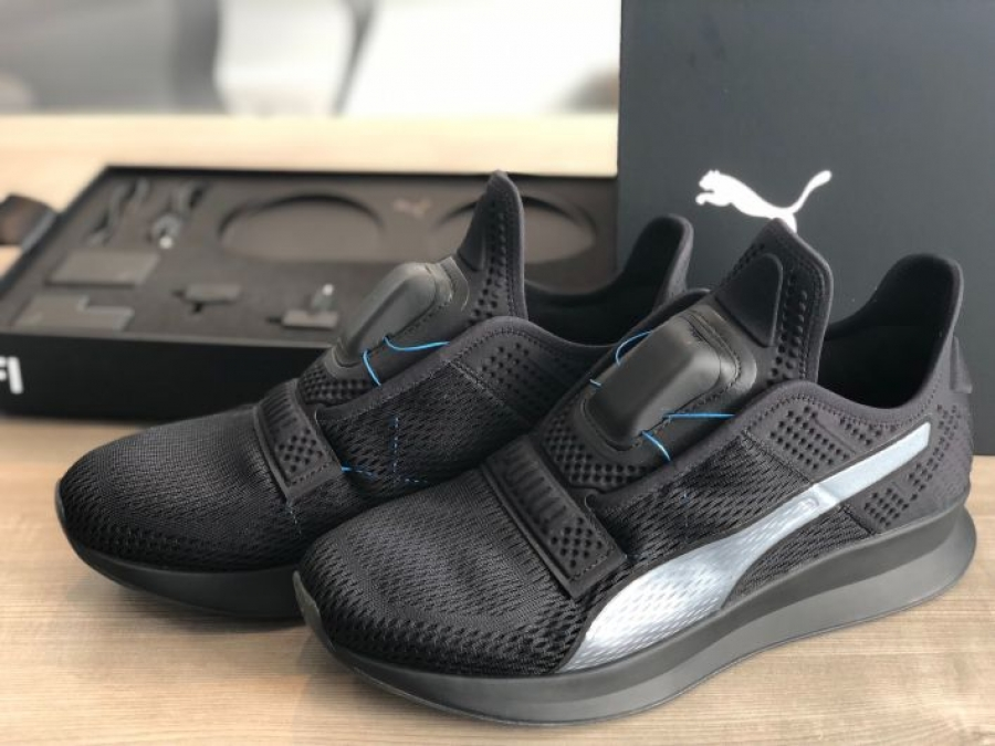 Puma is releasing self-lacing smart shoes to take on Nike