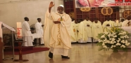 Accra Catholic Archdiocese bids farewell to Most Rev. Palmer-Buckle