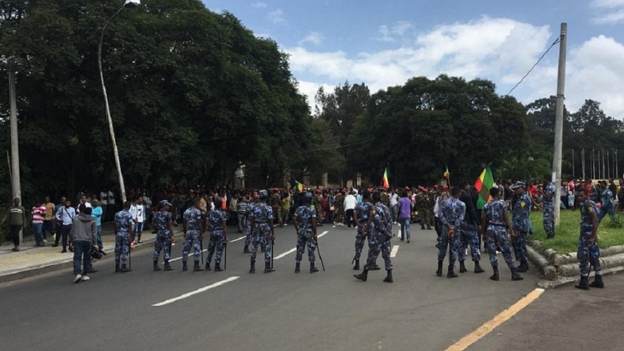 Ethiopia:Addis Ababa at standstill as Ethiopians protest deadly violence