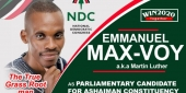 Ashaiman Constituency : NDC reopens nominations after the death of aspirant